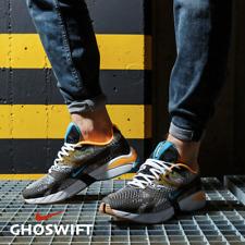 Nike Ghoswift Men's Retro Running Shoes Black Orange Blue size 10