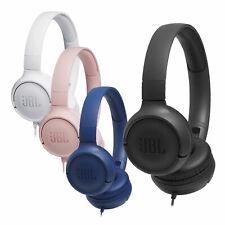JBL T500 On-Ear Kopfhörer Mikrofon Faltbar Leicht Pure Bass Tasten Headphones