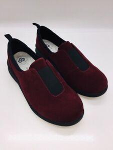 CLOUDSTEPPERS by Clarks Women's Sillian 2.0 Walk Slip-On Shoes Maroon US 11W