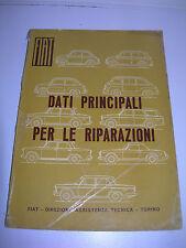 FIAT Nuova 500 D 600 MULTIPA 1500 L  1800 2300 1100 TUTTE 1200 CABRIOLET MANUALE