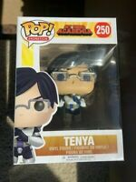 RARE TENYA MHA Funko Pop Vinyl New in Mint Box + Protector