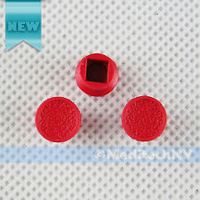 Brand New! 3x TrackPoint RED CAP Nipple SOFT RIM Style for IBM Thinkpad Genuine