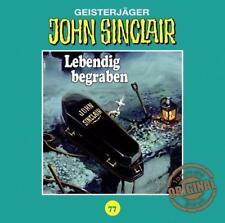 John Sinclair Tonstudio Braun 77 Lebendig begraben v. Jason Dark (27.07.2018,CD)