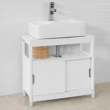 SoBuy® Waschbeckenunterschrank, Badschrank, Waschtisch Unterschrank,FRG128-W