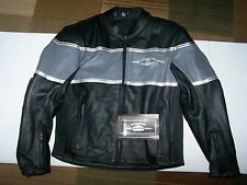 NEW  SUZUKI BOULEVARD LEATHER JACKET MEDIUM