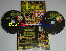 CD MILLENNIUM COMPILATION Radio 105 QUEEN BOWIE TALKING HEADS DURAN TALK (C10)
