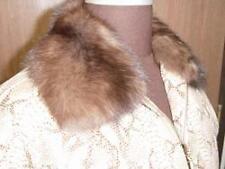 RUSSIAN SABLE & PYTHON Snakeskin Leather Jacket SUPERB