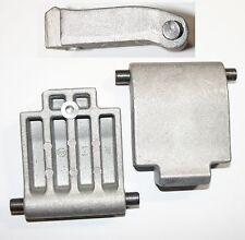 Gegenplatte passend für ATIKA ALH 2603 - Variolux 2600  Gartenhäcksler Häcksler