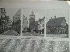 1912 Besigheim Beilstein Groß Sachsenheim Lauffen Möckmühl
