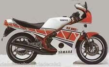 YAMAHA RZ350R PAINTWORK DECAL SET