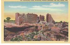 Hovenweep Castle National Monument, San Juan County, Utah,Unused Linen Postcard
