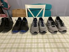Lot of 4 Pairs Pre-Owned Men's Asics Shoes Size 10 1/2 & 11