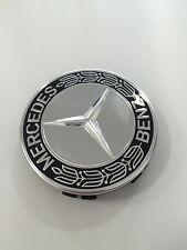Mercedes-Benz Radnabenabdeckung im Klassischen Roadster Design in Schwarz
