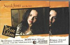 CD ET DVD DIGIPACK AVEC FOURREAU NORAH JONES FEELS LIKE HOME DELUXE EDITION 2004
