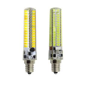 10pcs E12 Candelabra C7 120 5730 LED Light bulb Lamp AC12V/DC12-24V White/Warm