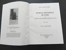 PARIS-JALLOBERT JOURNAL HISTORIQUE DE VITRE DOCUMENTS ET NOTES EXNUM 1995
