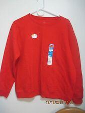 "New Red Hanes Comfort Blend L Large Sweatshirt 44"" Chest"