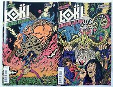 LOKI RAGNAROK and ROLL Comic Lot # 1 2 ~ 1ST PRINT ~ NM / UNREAD ~ BOOM Comics