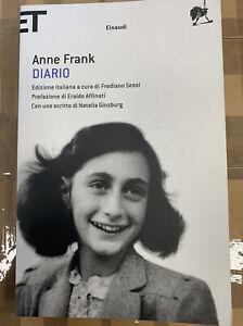 DIARIO - ANNE FRANK - EINAUDI 2016, SUPER ET