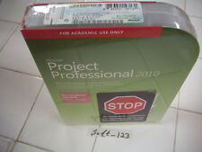 Microsoft Project 2010 Professional For 2 PCs Full Academic Version =SEALED BOX=