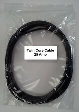 12V / 24V AUTOMOTIVE 5 METERS 25 AMP 2 CORE FLAT TWIN THIN WALL CAR CABLE WIRE