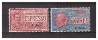 S14075) Libya 1915 Mxxxlh New Ling. Espressi 2v. Sass. 1/2