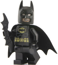 LEGO DC SUPER HEROES TIPO 2 Cappuccio Nero Suit BATMAN pupazzetto 76013 sh016a 6863
