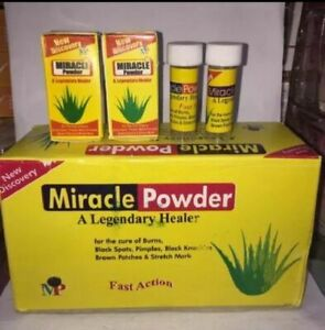 Miracle Powder is naturally formulated for all skin problems