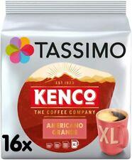 Tassimo Kenco Americano Grande Coffee Pods (Pack of 5, 80 pods in total, 80