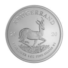 Süd-Afrika 1 oz. Unze Silber 999 Krügerrand Silbermünze 2020 in Münzkapsel