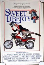 SWEET LIBERTY Orig. (1982) 27x41 Movie Poster ALAN ALDA ROLLED MINT CONDITION!