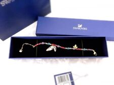 NWT Swarovski Tilly Bracelet 1181333 Dragonflies Wings Gold-Plated Crystal $125