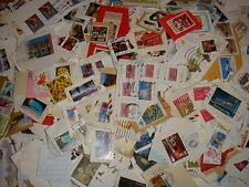 900g Whole World/Foreign/UK Postage Stamps On Paper, Job Lot from Kiloware