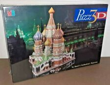 MB Puzz 3D St Basil's Cathedral Moscow PUZZLE - RARE - NEW & SEALED