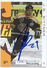 JB BITTNER AUTOGRAPH AUTO 05-06 JOHNSTOWN CHIEFS TEAM ISSUE #2 *38809