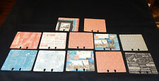 New listing Graphic45 Cityscapes (12) Handmade Memorydex Cards Double-Sided Rolodex