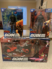 Gi Joe Classified Lot Of 3, Cobra Island Trooper, Blue Eyed Beach Head, Baroness