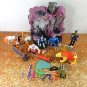 Vintage Lot Of 1983 1982 1972 Mattel He-Man Multiple Characters skeletor