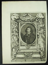 Carolus Carolo Casparus Casparo VAN MERLEN c1650 Trevirensis Canterbury print