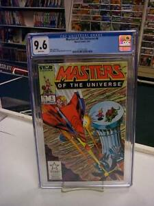 MASTERS of the UNIVERSE #6 (Marvel, 1987) CGC Graded 9.6! ~HE-MAN ~White Pages