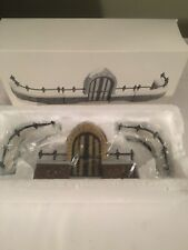 Dept. 56 Heritage Village Collection Churchyard Gate & Fence (Set of 3) #5806-8