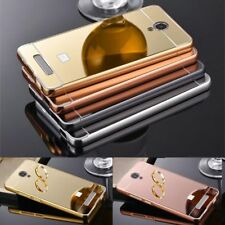 Metal Aluminum Bumper Frame PC Mirror Case Back Cover For Xiaomi RedMi 4X 4 3 5