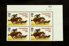 US Stamps #2754 ~ 1993 CHEROKEE STRIP 29c Plate Block MNH