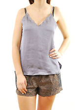 Free People Women's Slip Intimately Straps Deep V-neck Moonlight Size XS BCF61