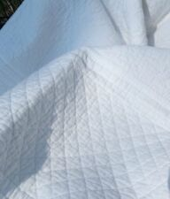 Tagesdecke CRYSTAL 180x245 cm Weiß Plaid Sofaüberwurf Shabby Vintage Landhaus