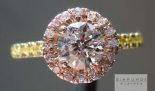 .70ct Fancy Brown Pink I1 Round Brilliant GIA Ring R5588 Diamonds by Lauren