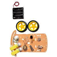 NEW  2WD Smart Robot Car Kit/Speed encoder Battery Box Arduino 2 motor 1:48