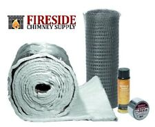 "CHIMNEY LINER INSULATION KIT 3"" to 6"" LINERS x 25'"