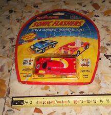 MAJORETTE MICRO RACING CARS METAL DIE CAST SONIC FLASHERS SERIES 2300 MOC MISB