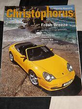 CHRISTOPHORUS PORSCHE MAGAZINE 291 AUG/ SEPT 2001 PORSCHE 911 CARRERA 4 6 906